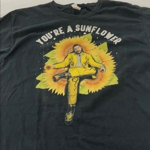 Post Malone You're a sunflower T-shirt sz L